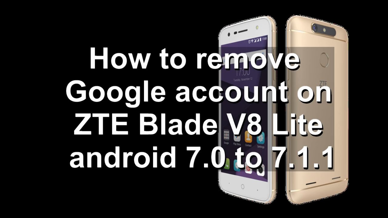 How To Bypass Google Account On Zte
