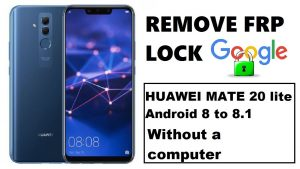 Remove google account huawei mate 20 lite emui 8 2 android