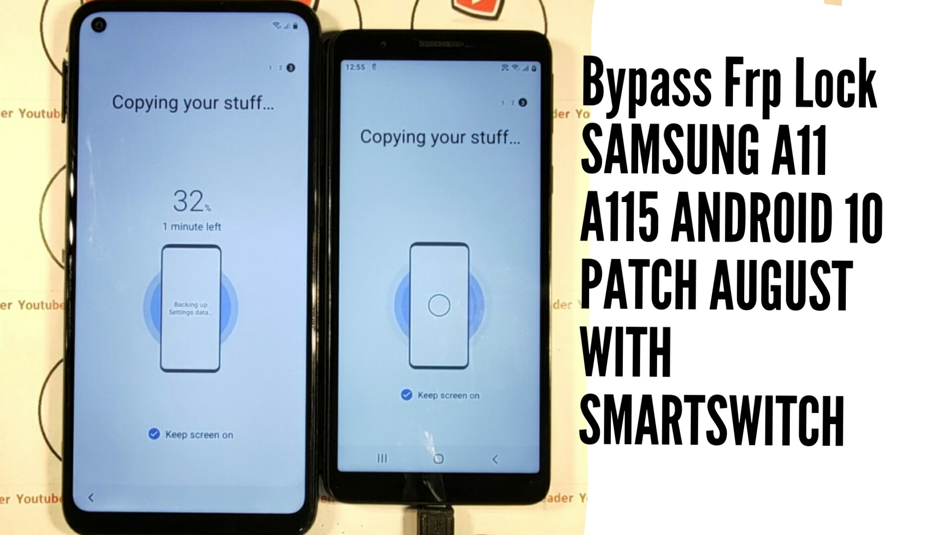 SAMSUNG A11 A115 ANDROID 10