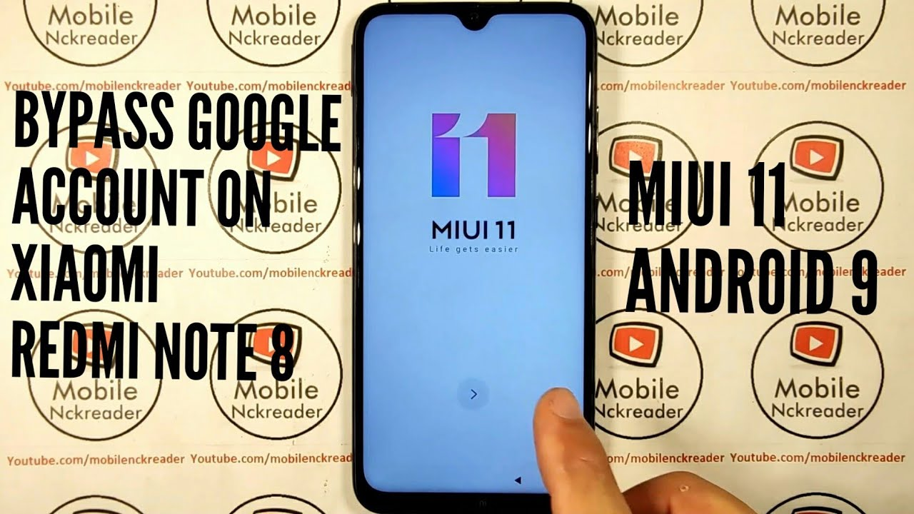 REDMI NOTE 8 MIUI 11 ANDROID 9