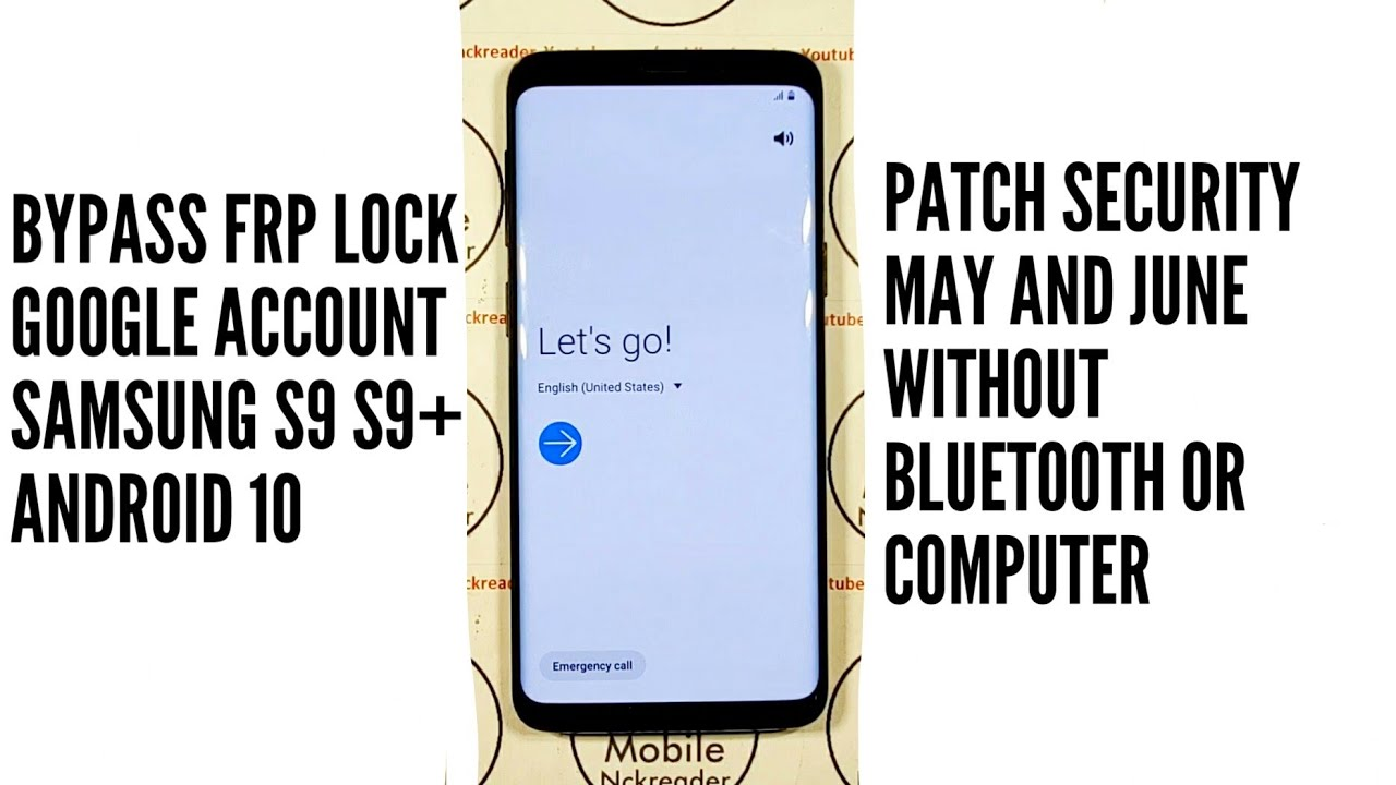 SAMSUNG S9 ANDROID 10 PATCH MAY